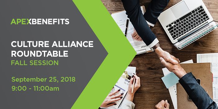 2018 Culture Alliance Roundtable – Fall Session