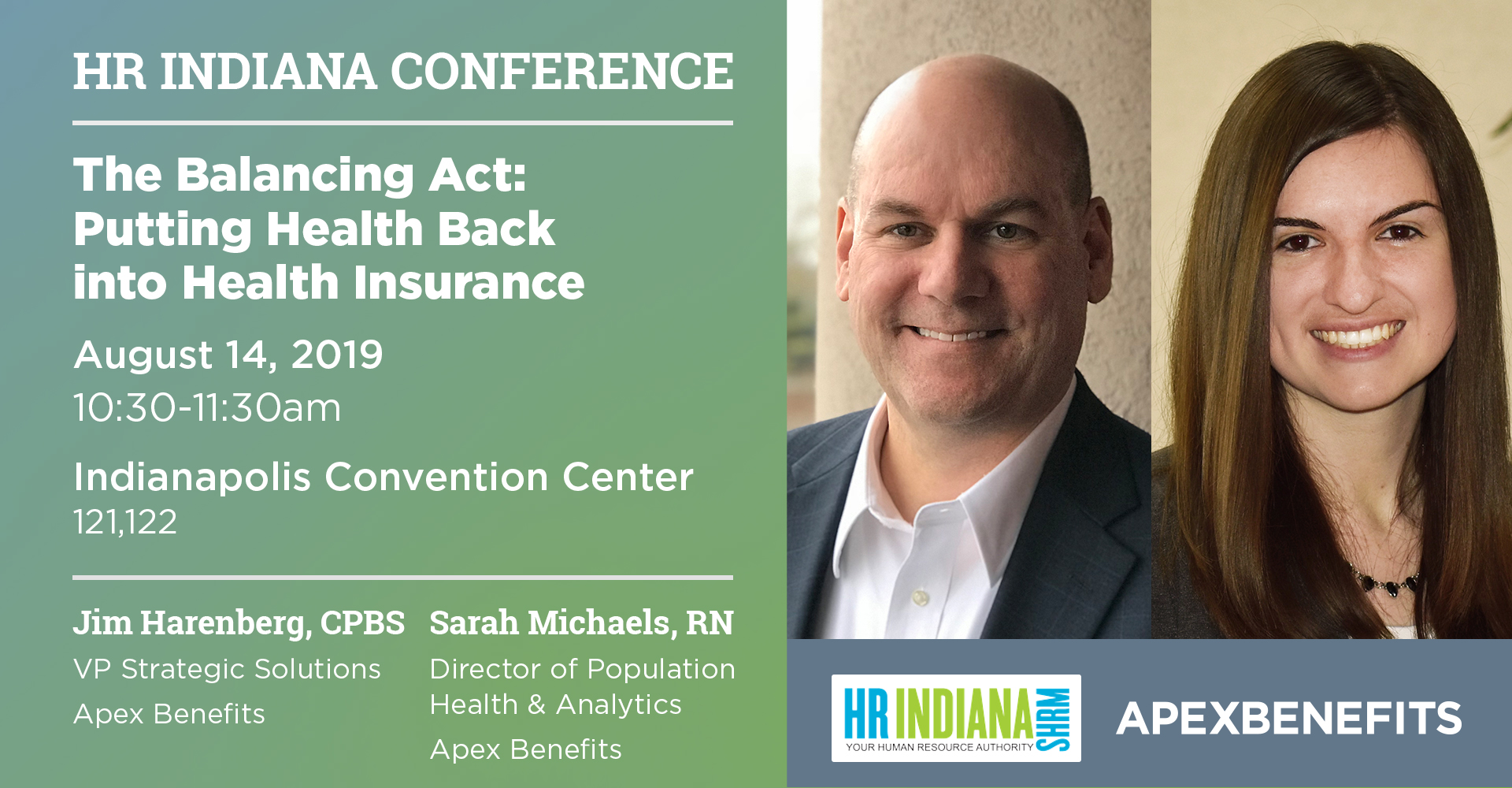 Apex Pharmacy and Wellness Experts to Present at the 2019 HR Indiana SHRM Conference