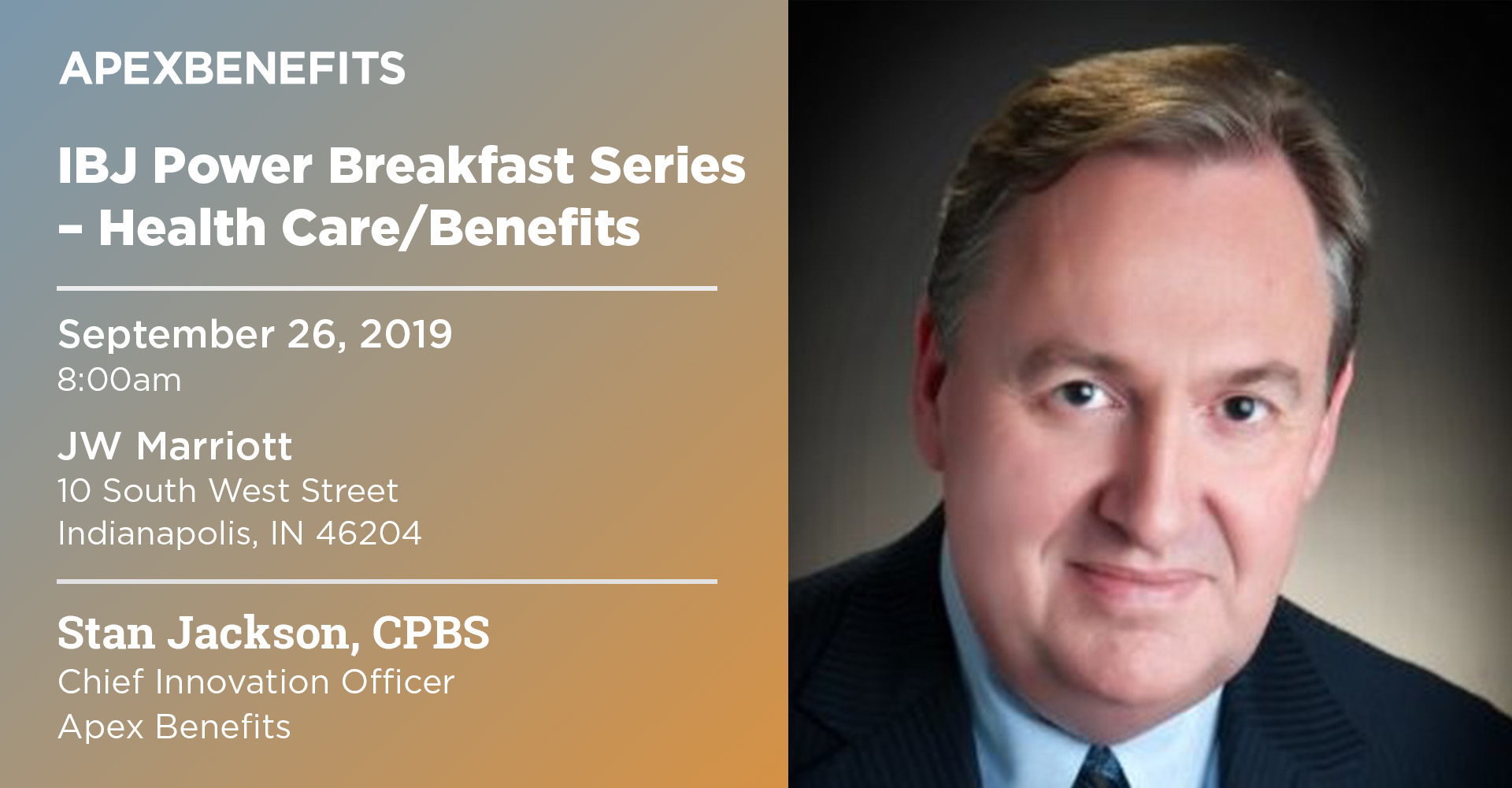 Chief Innovation Officer to Speak at IBJ Power Breakfast Event