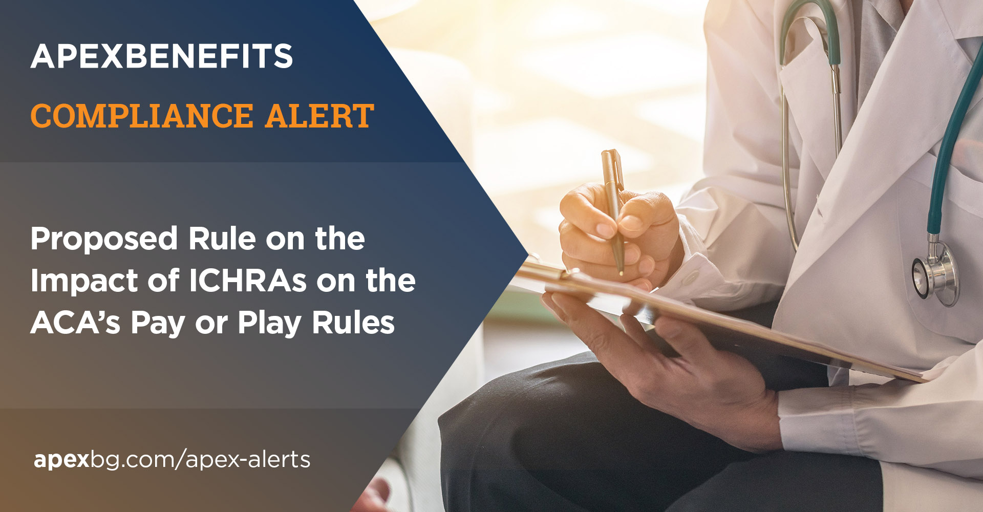Compliance Alert: Proposed Rule on the Impact of ICHRAs on the ACA's Pay or Play Rules