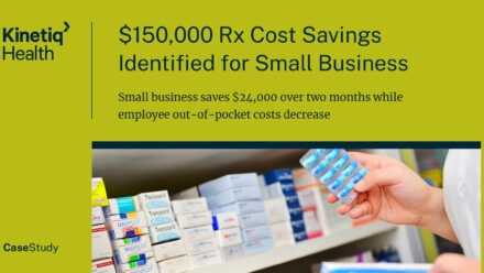Substantial Rx Cost Savings Identified for Small Business