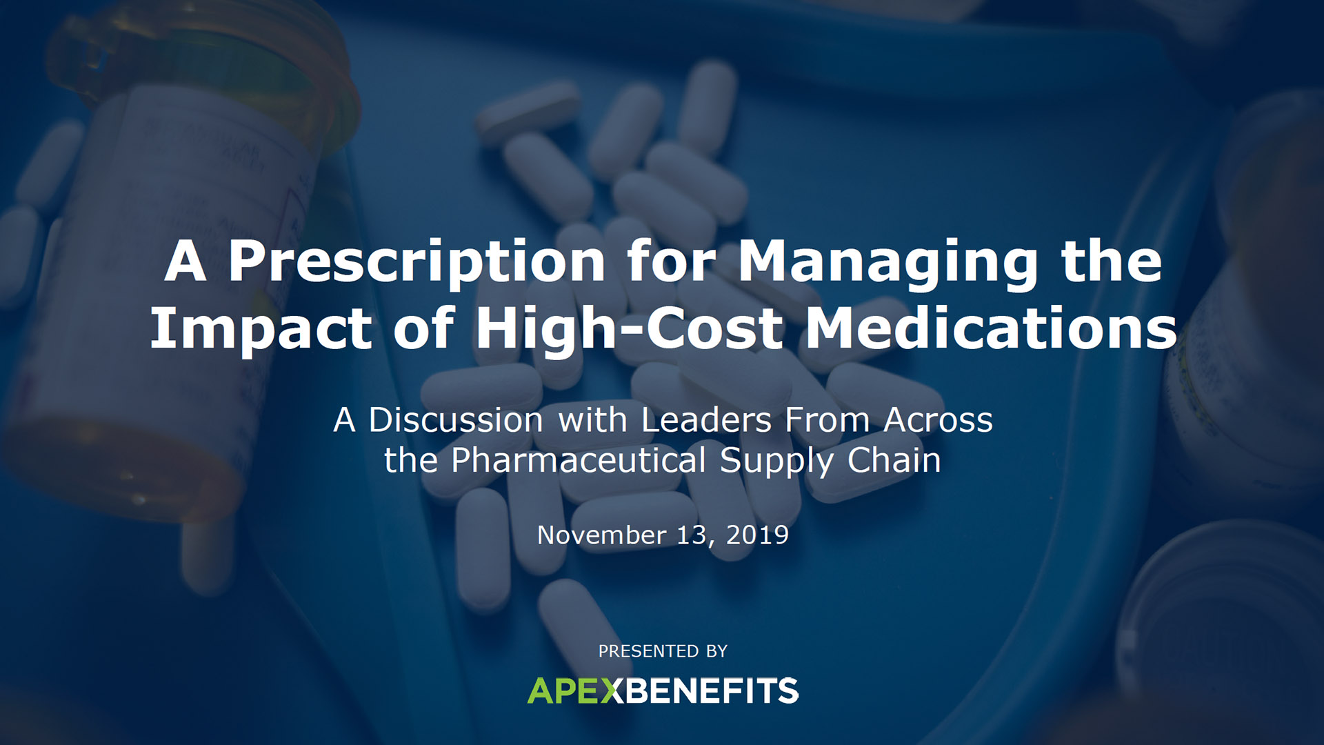 High-Cost Medications Full Event Thumbnail