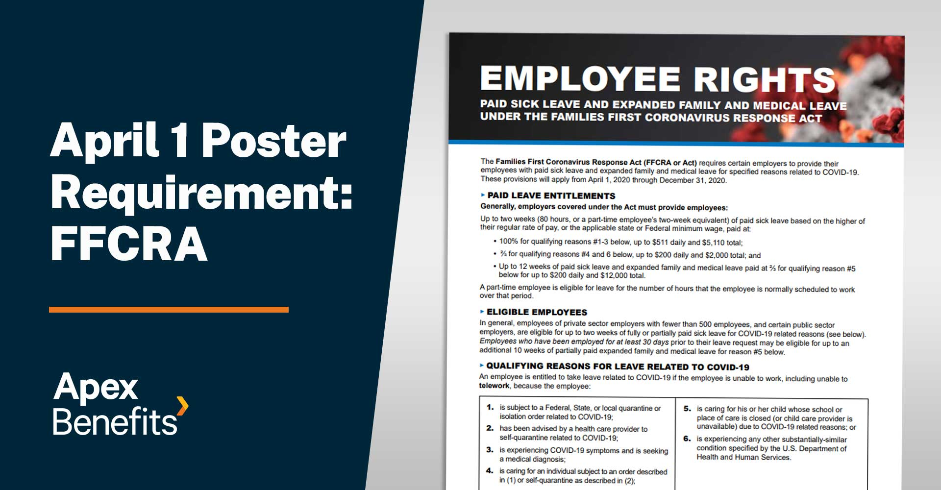 Poster | FFCRA Notice to Employees