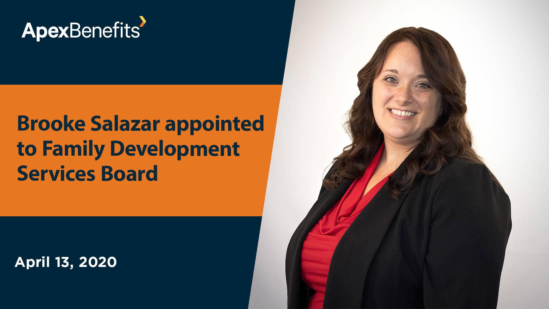 Apex's Salazar Appointed to Family Development Services Board