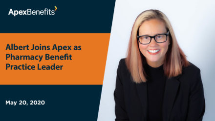 IN THE NEWS: Albert Joins Apex as Pharmacy Benefit Practice Leader
