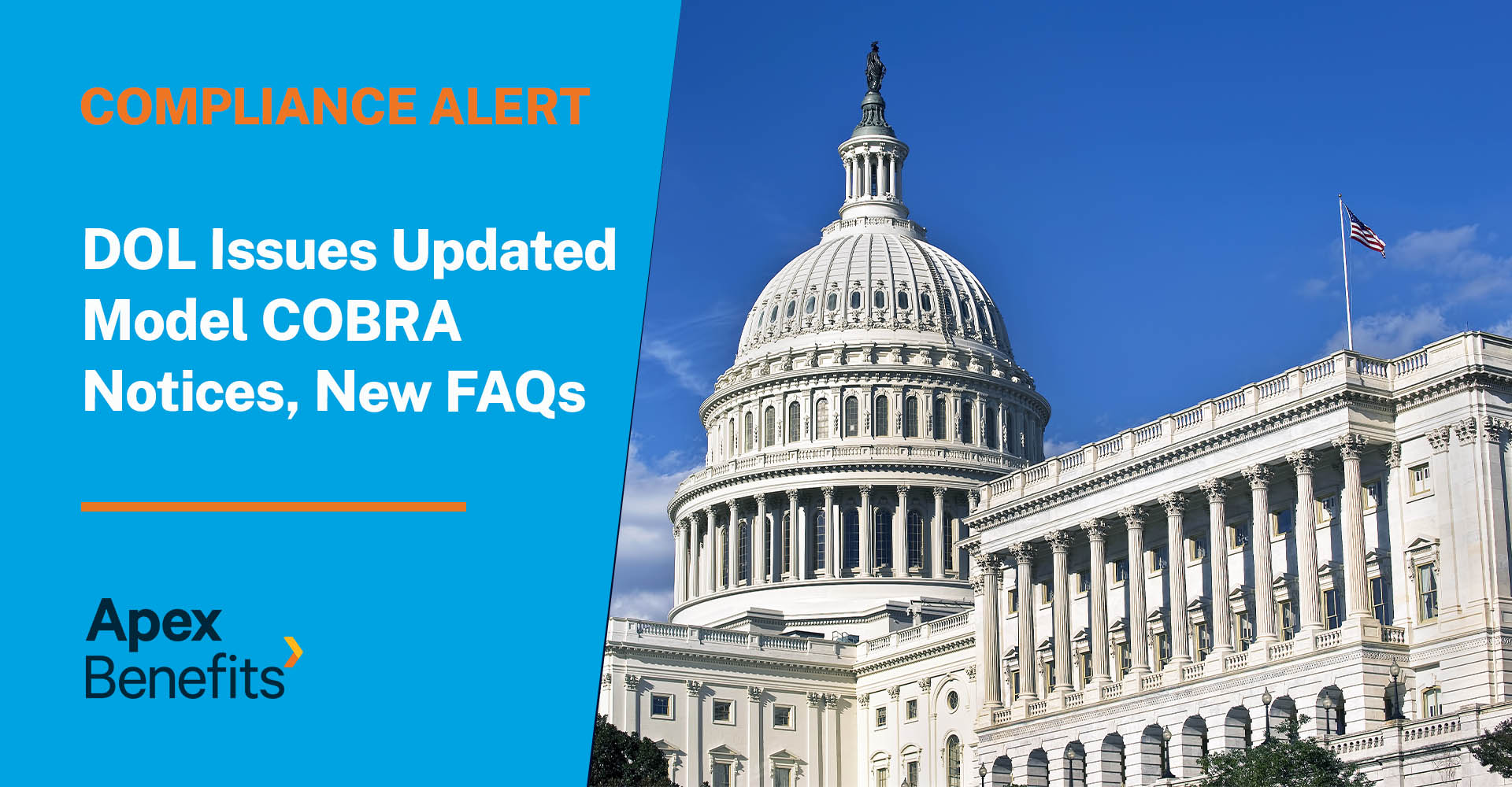 Compliance Alert: DOL Issues Updated Model COBRA Notices, New FAQs