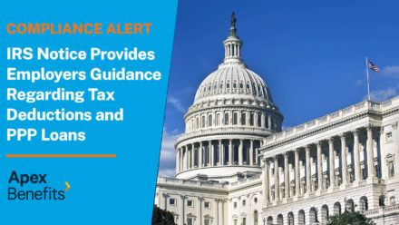 Compliance Alert: IRS Provides Guidance on Paycheck Protection Program