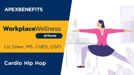 Workplace Wellness at Home: Cardio Hip Hop