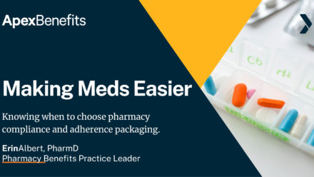 Pharmacy Compliance and Adherence Packaging: Making Meds Easier