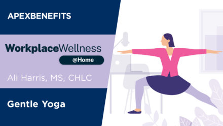 Workplace Wellness at Home: Gentle Yoga | Part 3