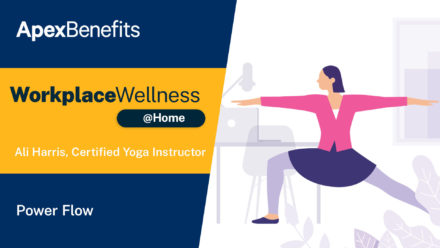 Workplace Wellness at Home: Power Flow