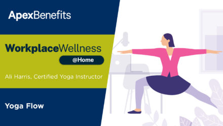 Workplace Wellness at Home: Yoga Flow