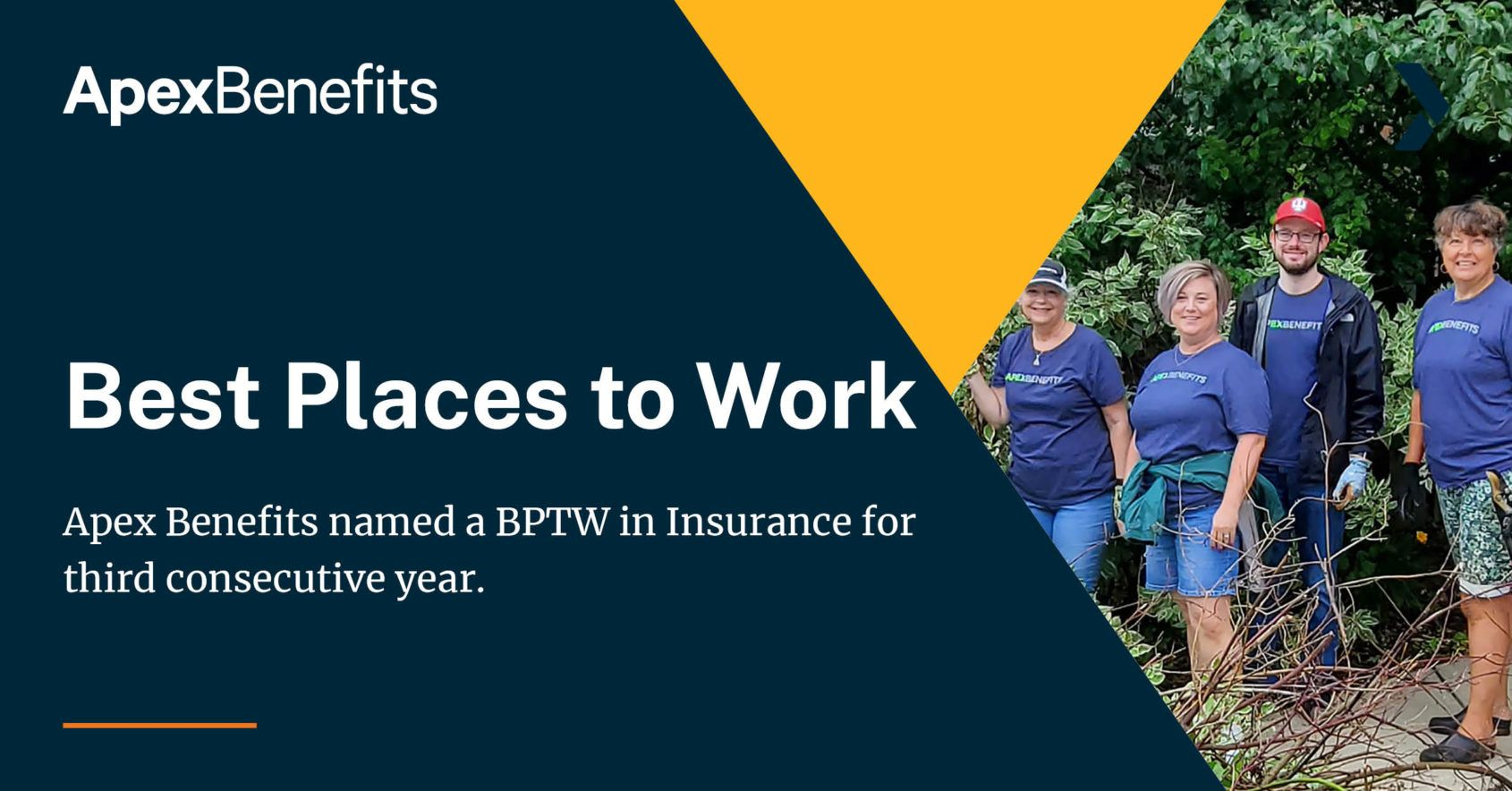 Best Place to Work Insurance Third Year