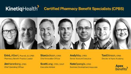 Apex Benefits' CPBS Pharmacy Benefits Consulting Team Grows to Seven