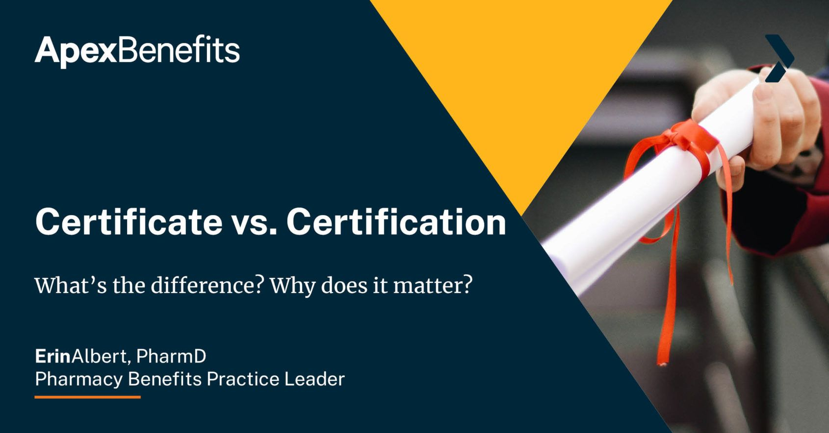 Certificate vs Certification