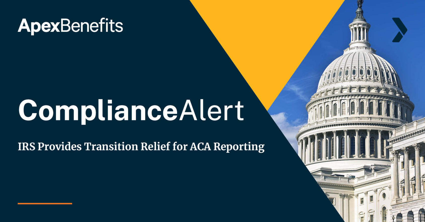 IRS Transition Relief ACA Reporting