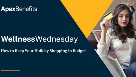 Wellness Wednesday: How to Keep Your Holiday Shopping in Budget