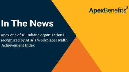 Apex Recognized by American Heart Association's Workplace Health Achievement Index