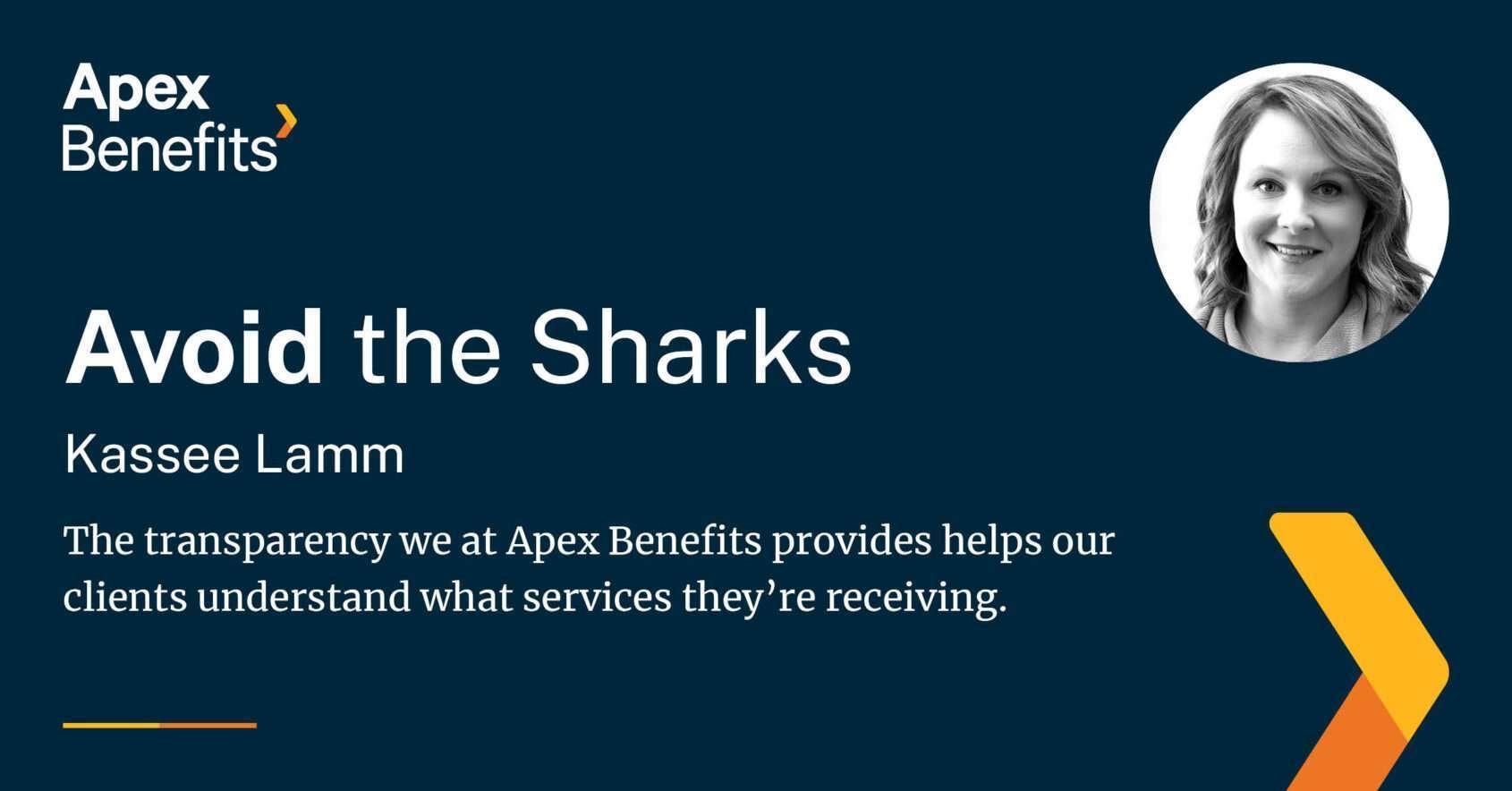 Avoid the sharks
