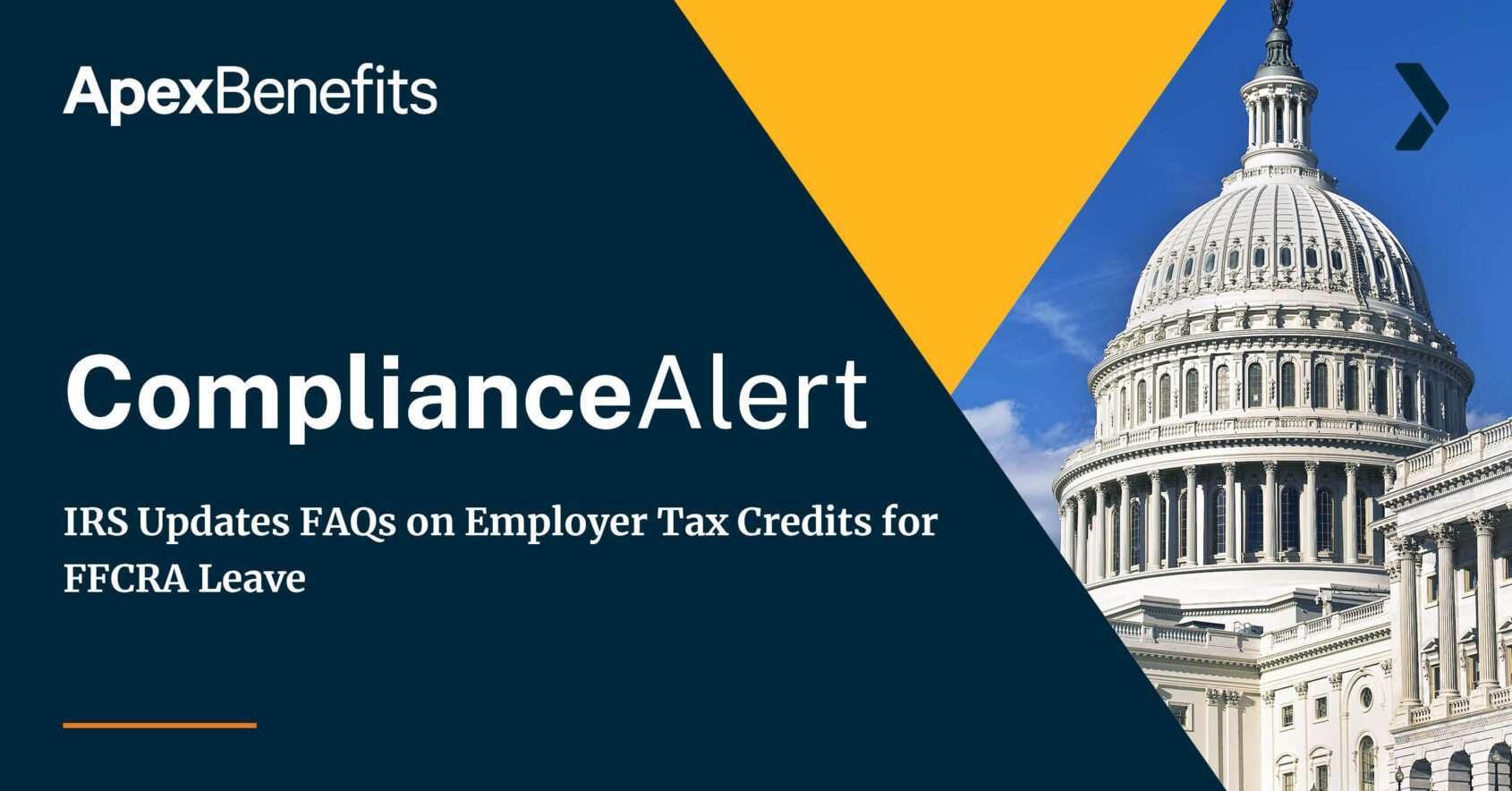 IRS FAQs Tax Credits FFCRA Leave