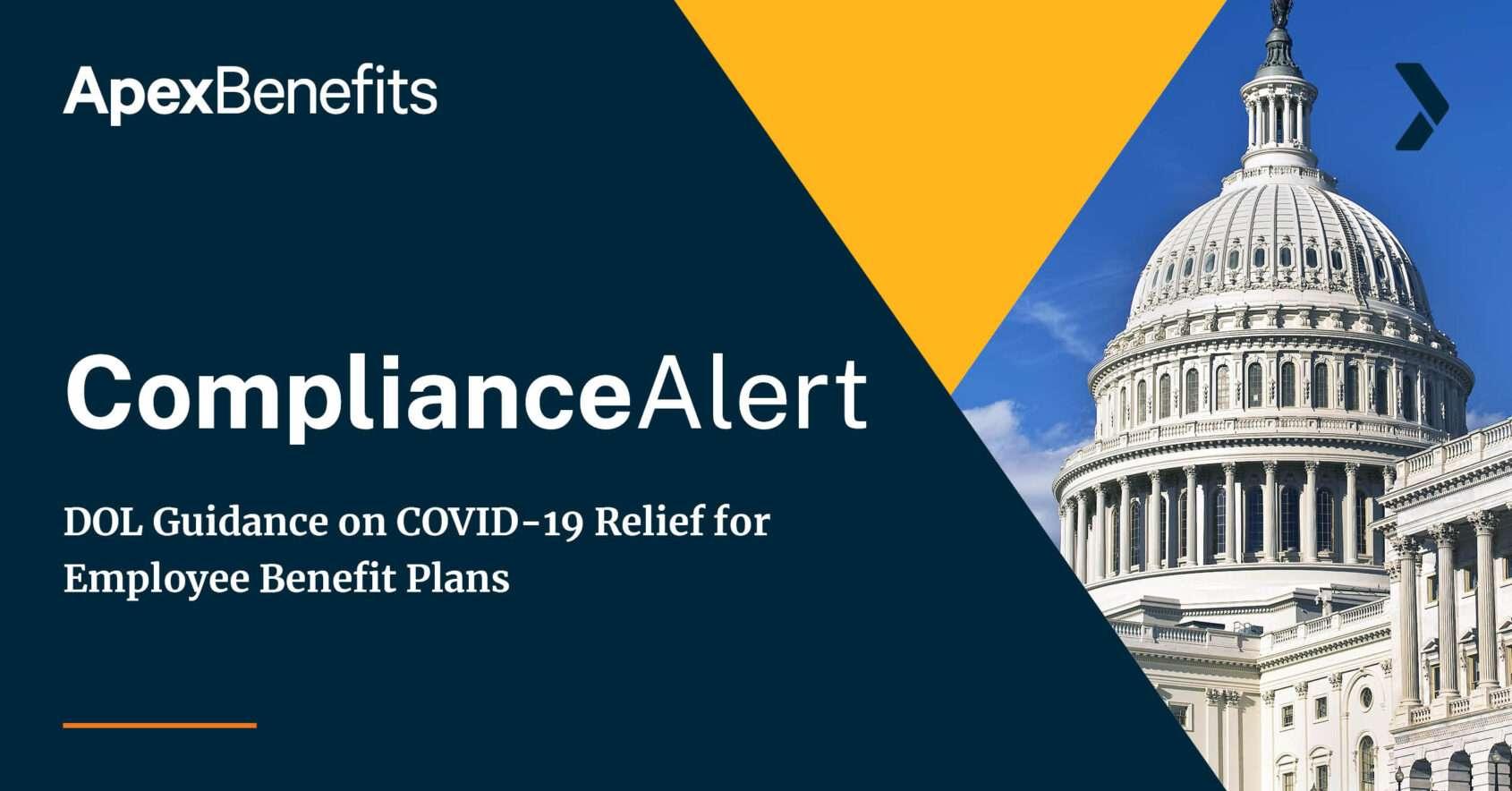 DOL Guidance Covid Relief