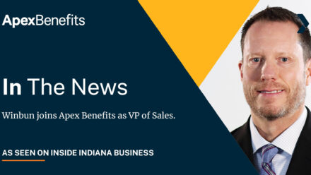 IN THE NEWS: Winbun joins Apex Benefits as VP of Sales