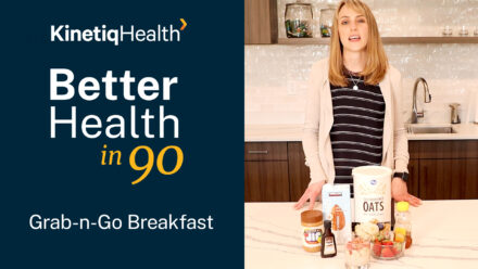 Better Health in 90 | Nutrients to Include in Your Breakfast