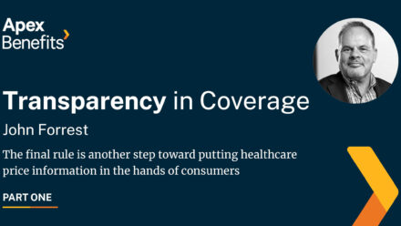 Transparency in Coverage: Employer-sponsored Health Plans Pt: 1