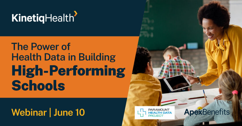 Health Data Webinar Schools