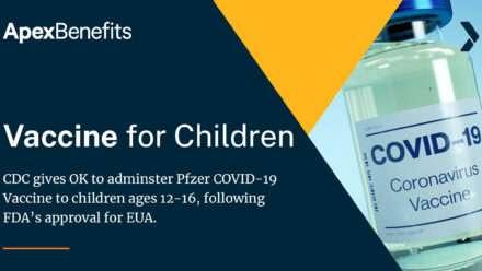 CDC, FDA Approves Pfizer COVID-19 Vaccine Use in Children Ages 12-16