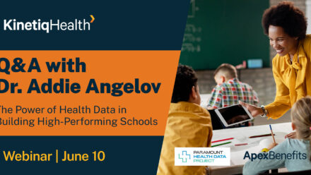 Q&A with Dr. Addie Angelov of Paramount Health Data
