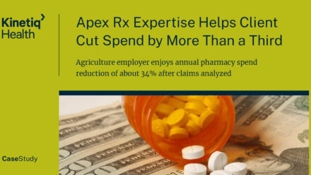 Apex Rx Expertise Helps Client Cut Spend By More Than a Third
