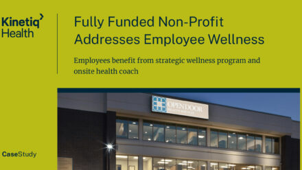 Fully Funded Non-Profit Addresses Employee Wellness