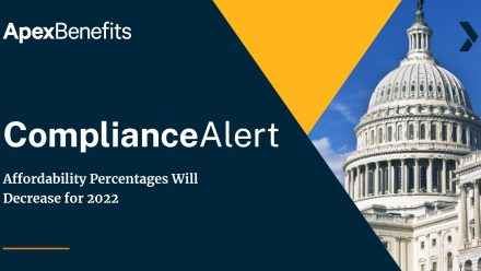 COMPLIANCE ALERT: Affordability Percentages Will Decrease for 2022