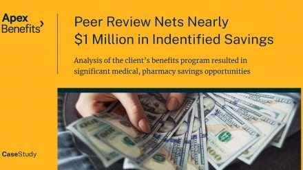 Peer Review Nets Nearly $1 Million in Identified Savings